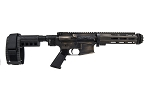 Limited Edition Tactical Life Battleworn Takedown AR Pistol 5.56 w/MLOK Handguard