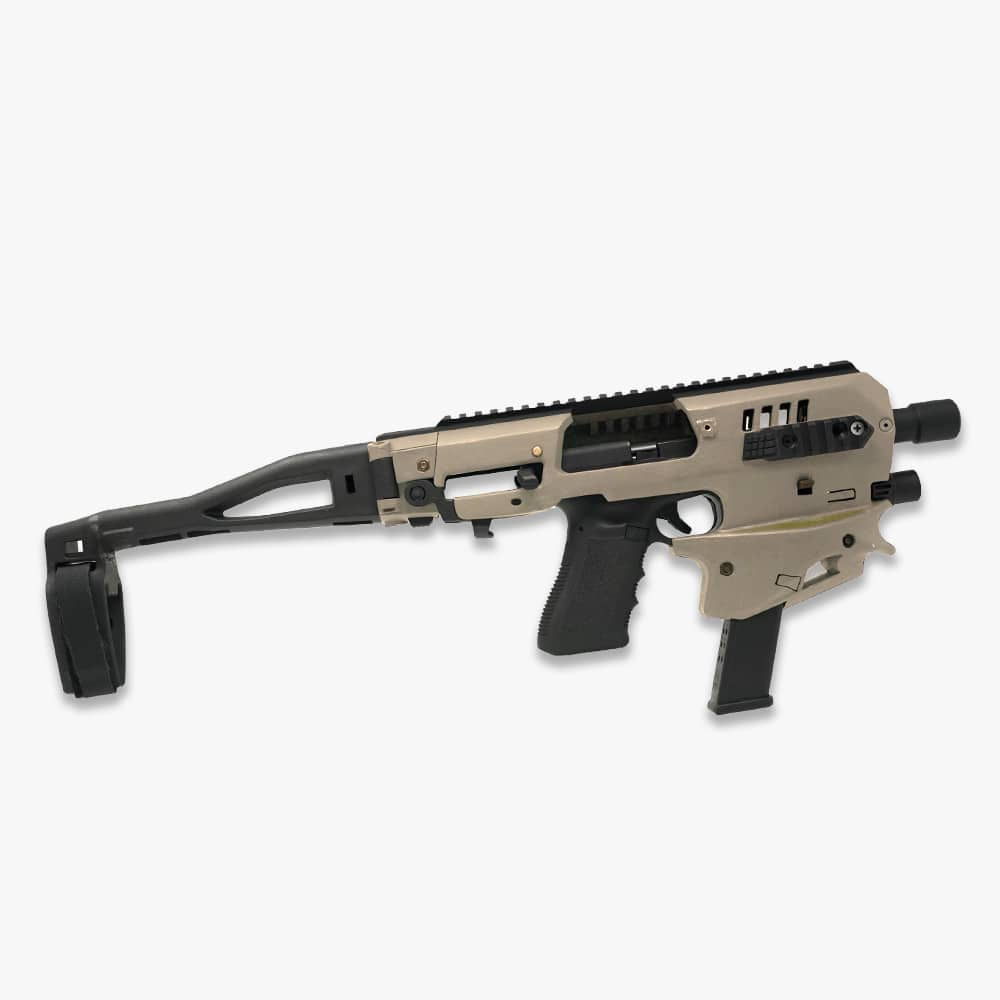 MCK Micro Conversion Kit 2.0 FDE Glock 17/19/19X/22/23/25/31/32/45