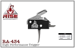 RA-434 High-Performance Trigger Silver Trigger Bar